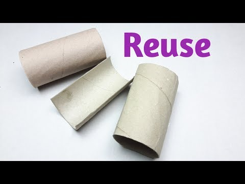 DIY: Awesome idea with Tissue paper roll/Craft Idea