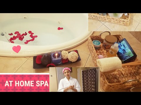 VLOG | At Home SPA in TAMIL| Beauty tips| Spa DIY |Pamper Routine
