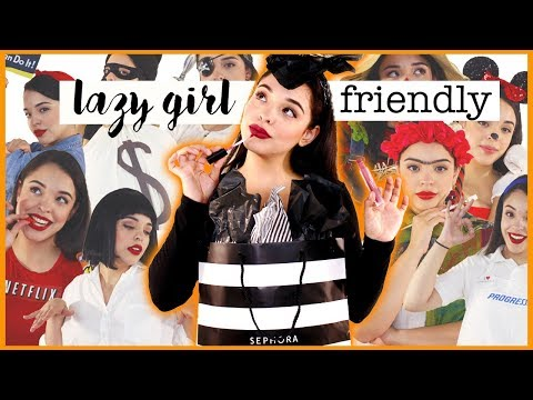 20 LAZY GIRL FRIENDLY Last Minute Halloween Costumes