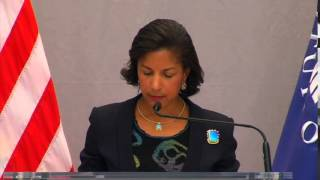 Ambassador Rice Delivers Remarks on the Upcoming U.S.-Africa Leaders Summit