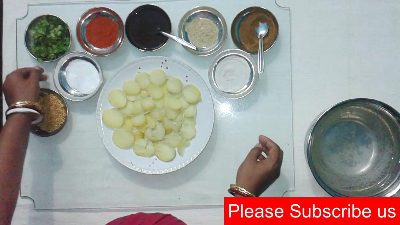 how to make Aloo cut - chatpate aloo - spicy patatos - indian streat ...