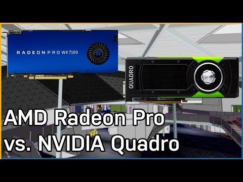 AMD Radeon Pro vs. NVIDIA Quadro: Workstation Performance
