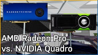 AMD Radeon Pro vs. NVIDIA Quadro: Workstation Performance