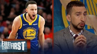 Steph Curry deserves to be in the best player conversation - Nick Wright | NBA | FIRST THINGS FIRST