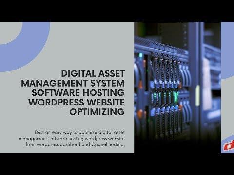 Digital Asset Management System Software Hosting Wordpress Website Optimizing