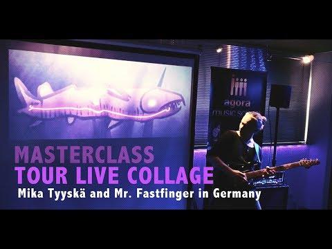 Mika Tyyskä Guitar Creativity Tour 2017