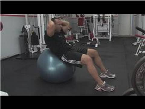 Exercise Techniques : How to Do Sit-Ups on the Exercise Ball