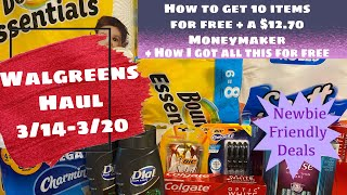 walgreens haul 3 14 3 20 how to get 10 items for free a 12 70mm newbie friendly deals