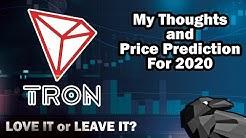 TRON TRX Price Prediction 2020 and 2021