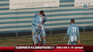 Serie D Girone D Vigor Carpaneto-V.A.Sansepolcro 2-1