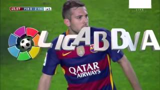 FC Barcelona vs Valencia CF [1-2][17/04/2016] EL BARÇA JUGA A RAC1