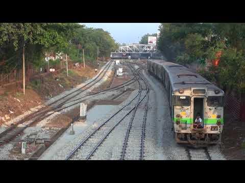 Trains of Myanmar railways(MR)(Jan., 2018)  5 ミャンマー国鉄の列車(2018年1月) 5