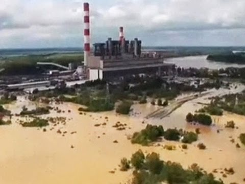 Floods unleash landslides and landmines in the Balkans