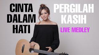 cinta dalam hati medley pergilah kasih Tami Aulia LIVE @STIMIK Pekalongan