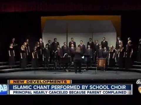 WATCH: California School Choir Goes Ahead with Islamic