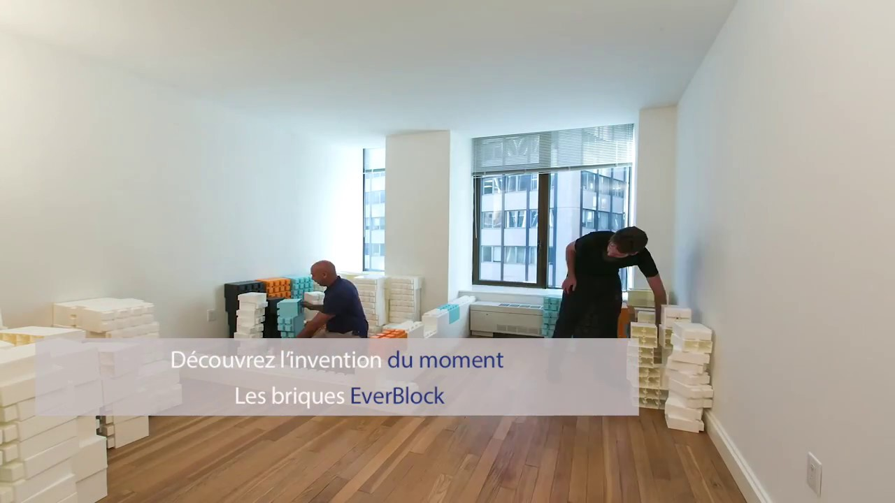 Les briques everblock systems france vont r volutionner for Everblock systems