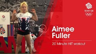 20 minute HIIT workout with Aimee Fuller | Workout Wednesday
