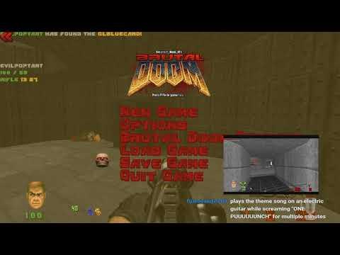 Brutal Doom 0.21b [Valiant] Cooperative Gameplay Commentary (01)