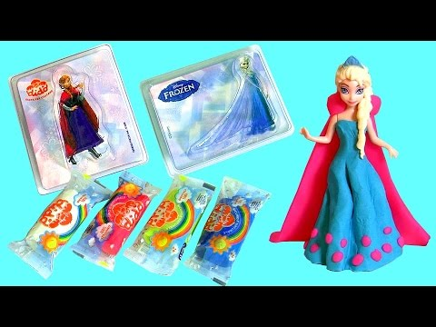 Play Doh Disney Frozen Anna Elsa Magiclip Design A Dress
