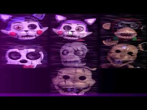PLAY AS ALL ANIMATRONICS! - Five Nights at Candy's 2