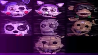 PLAY AS ALL ANIMATRONICS! - Five Nights at Candy