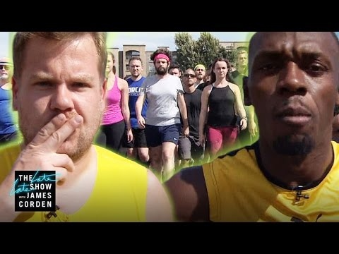 Download 100m Race: Usain Bolt vs James Corden & Owen Wilson