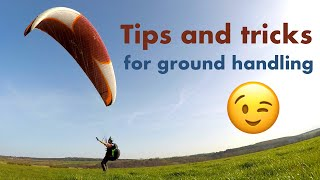Strong wind ground handling tips for paragliding and paramotoring