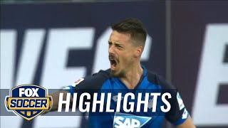 Video Gol Pertandingan Hoffenheim vs Hamburger SV