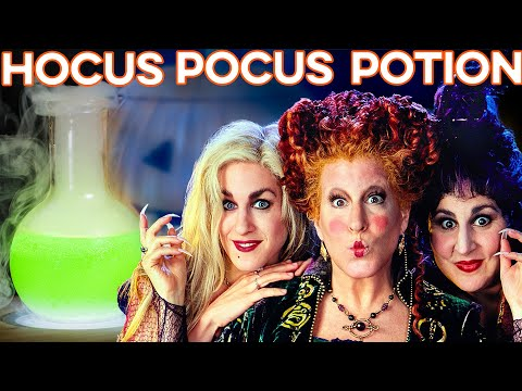 Hocus Pocus Potion | How to Drink