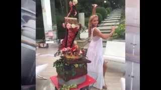 Рудковская показала свадебный торт Пескова и Навки