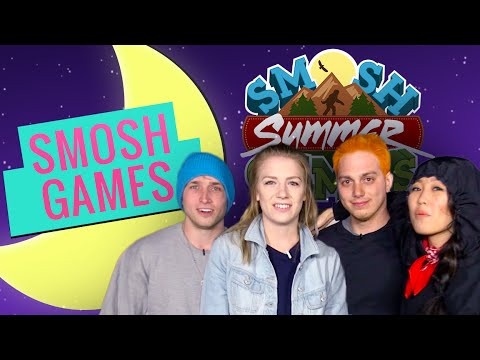 GUESS WHO'S IN MY SLEEPING BAG (Smosh Summer Games) - YouTube