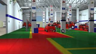 Car Workshop 3d Walkthrough