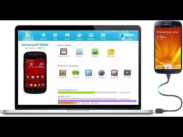 Управление смартфоном на Андроид с компьютера