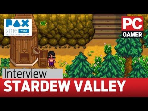 Stardew Valley - 1.1 update gameplay and interview