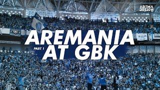 AREMANIA di Gelora Bung Karno (GBK) 2014