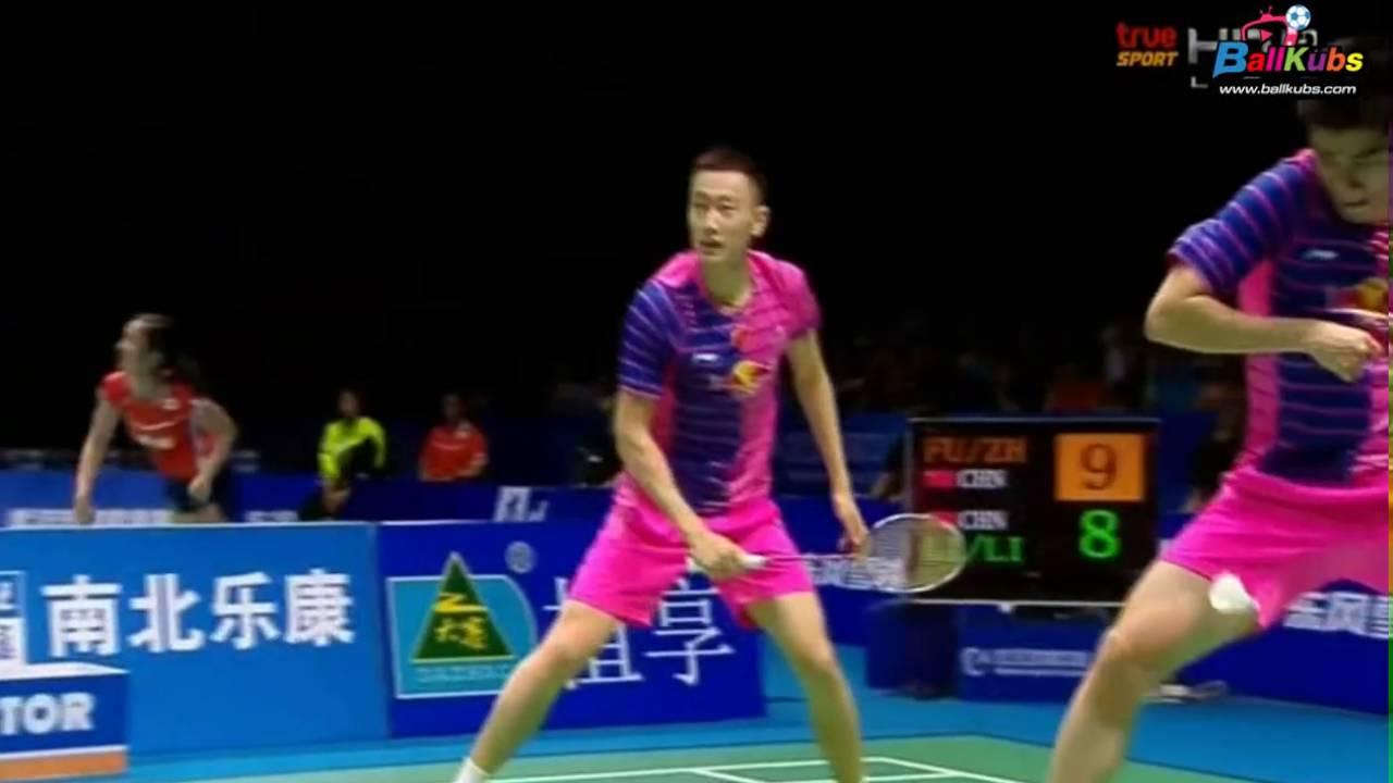 True Sport HD2 2016 Badminton Asia Championships SF MD Fu Haifeng Zhang Nan  vs Li Junhui Liu Y