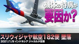 【紹介】スリウィジャヤ航空182便墜落