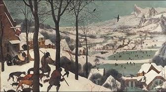 100 Meisterwerke - Jaeger im Schnee - Pieter Bruegel d.Ä.