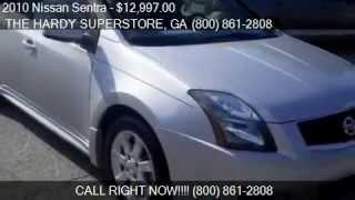 2010 Nissan Sentra 2.0SR for sale in Dallas, GA 30157 serving Rockmart, and Acworth