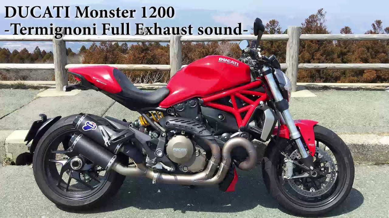 Ducati Monster S Sound