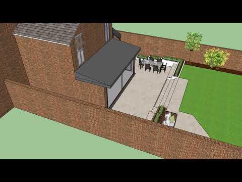 Chillington design 3 Brick BBQ