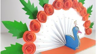 Independence Day Decoration Chart/Tri colour decoration for Independence Day.