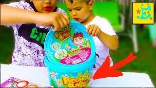 Booger Balls !!! ШАРИКИ из Слизи !!! Егорка и Ярик Делают Сами КруТую СЛиЗЬ...!!!