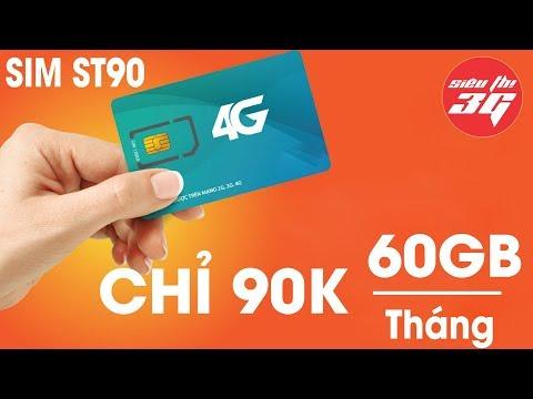 Review SIM 4G Viettel ST90 Nạp 90K Tặng 62GB/Tháng
