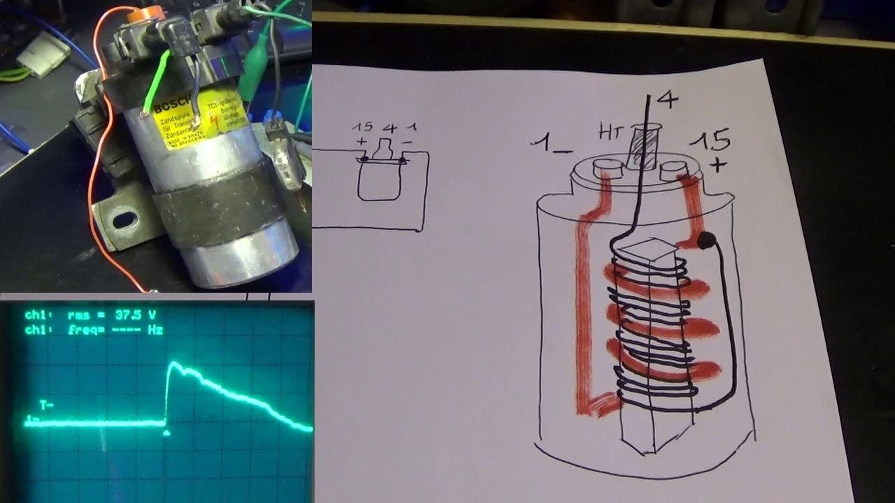 Schema Elettrico Bobina Di Accensione : Pieraisa archi elettrici con bobina d auto a scarica