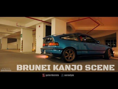 Honda Brunei Night Scene Kanjo Drag (feat CRX, Civic EG4, EG6, EK9 Type R, Ferio)