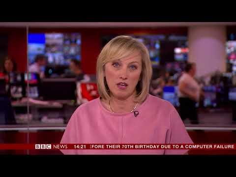 Martine Croxall BBC Newsroom Live May 2nd 2018
