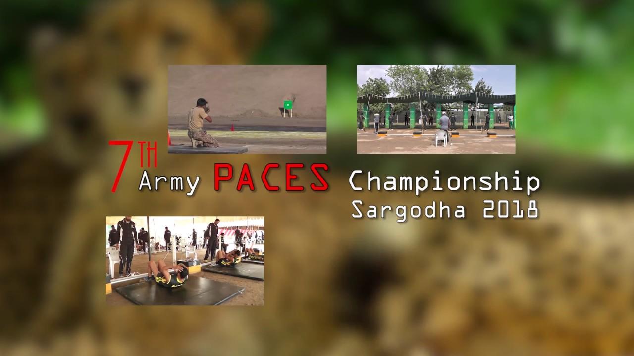 7th Pakistan Army PACES Championship - Feb 2018 Promo 1