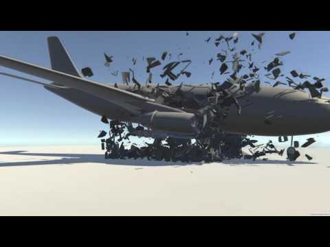 TwoSoulsEnergy Studio - Plane Crash Physics in Unity 5.4.2