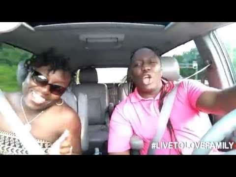 Benjah - Never Quit | The Johnson's in the car video version lol